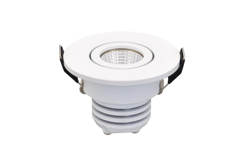 Perfect Light Output Round Cabinet LED Spot Light