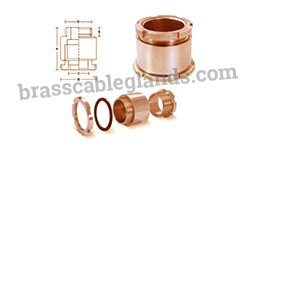 Brass Marine Type Cable Glands