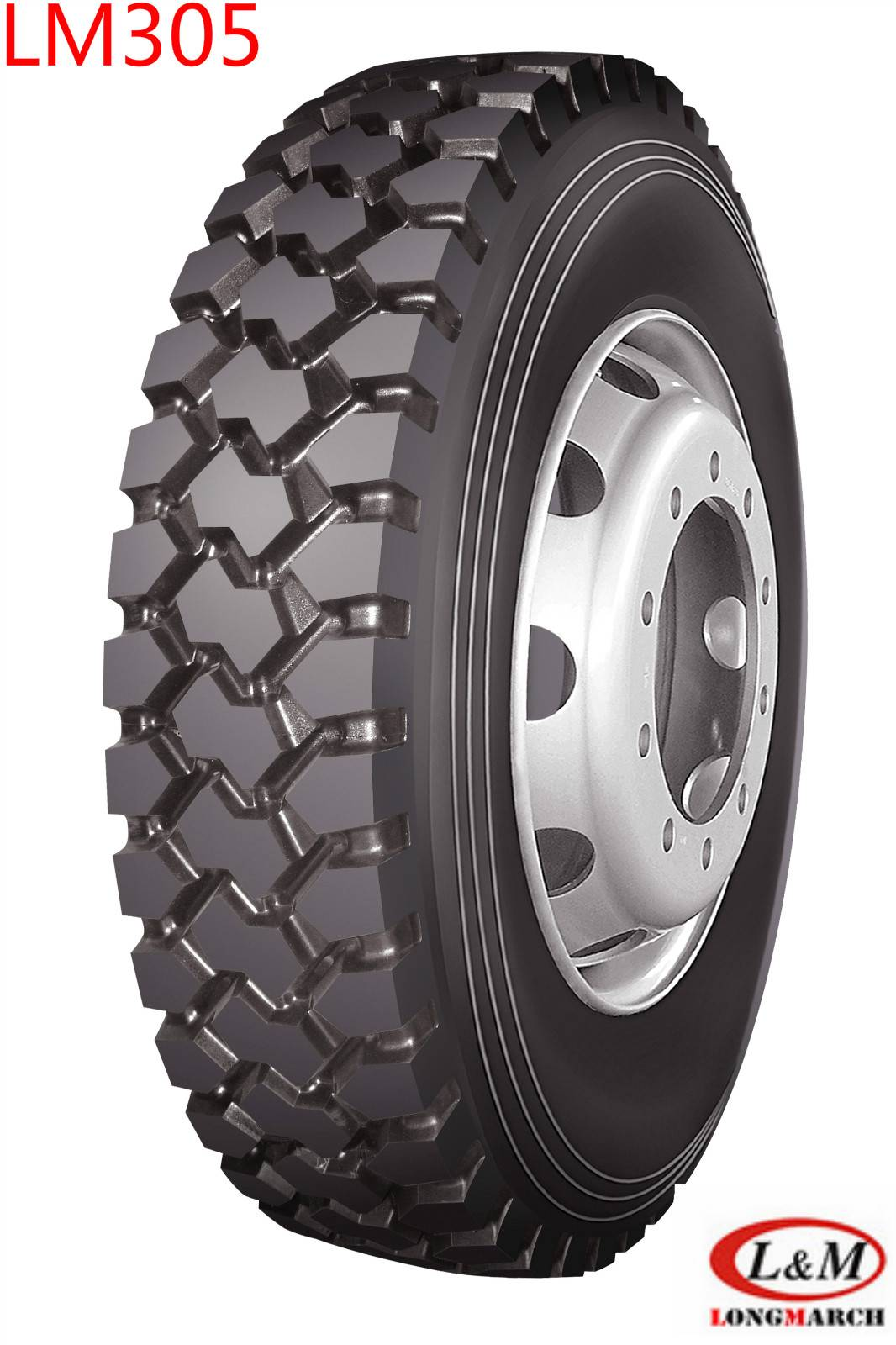11R22.5 Long March Truck Tire Top Quality(LM305)