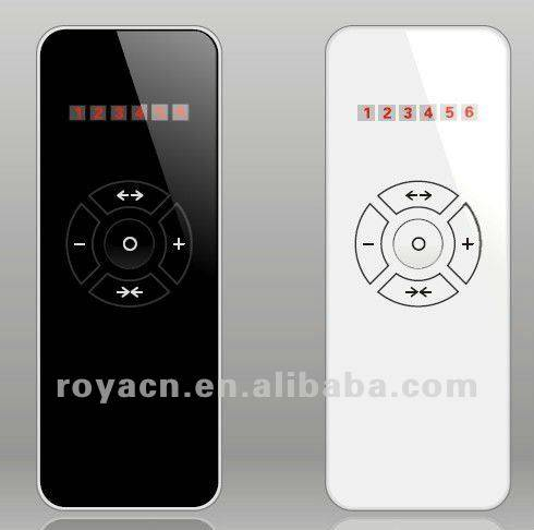 hand-hold remote control Ultrathin Type Remote Controller automatic electric curtain control motor