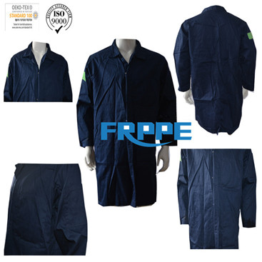 100% Cotton Flame Retardant Lab Coats/safety clothes/comfortable workwear