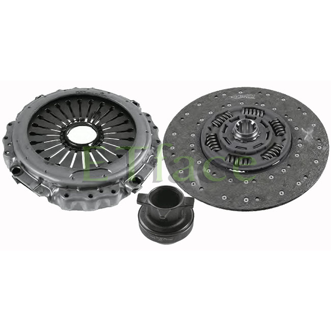 ETface 430mm Clutch Kits Clutch Disc Cover Assembly 3400 127 401 For MAN