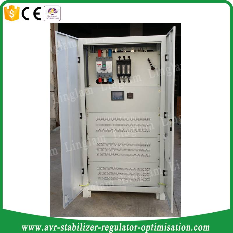 three-phase 320kva electronic voltage regulator