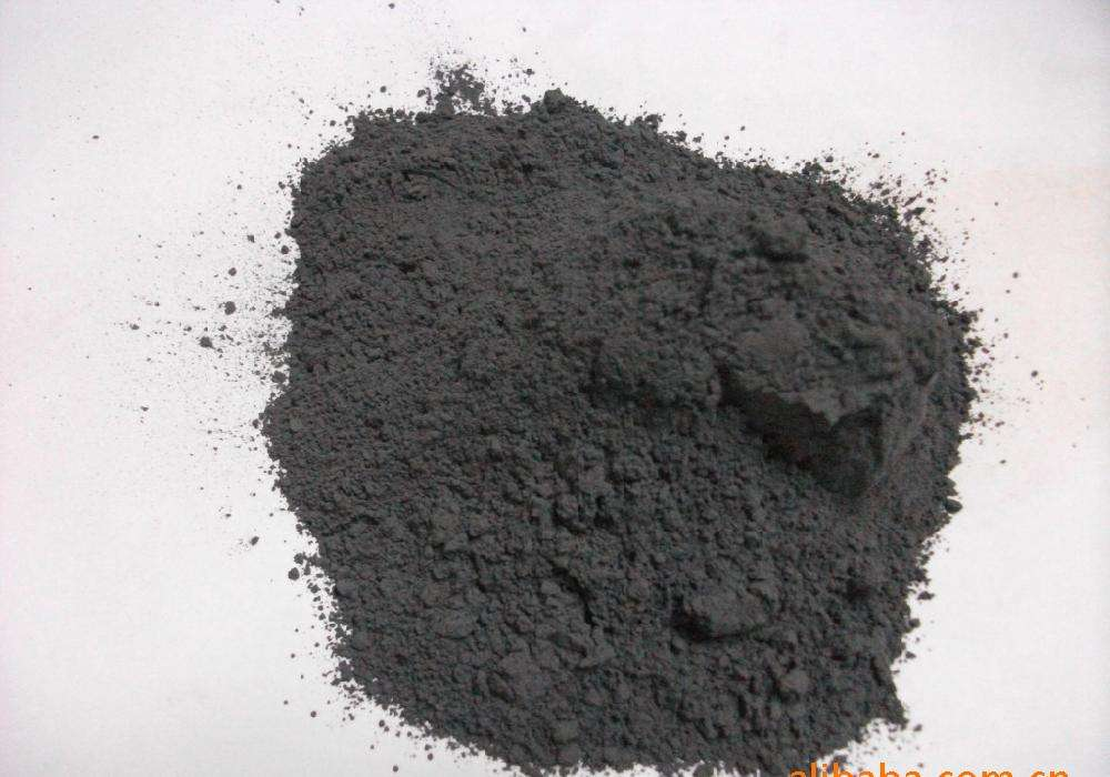 Black tourmaline powder