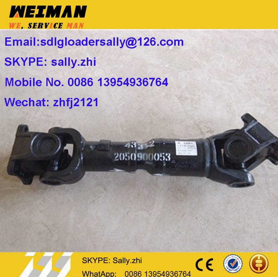 SDLG middle motion shaft, 2050900053 with  black colour for SDLG wheel loader LG936L