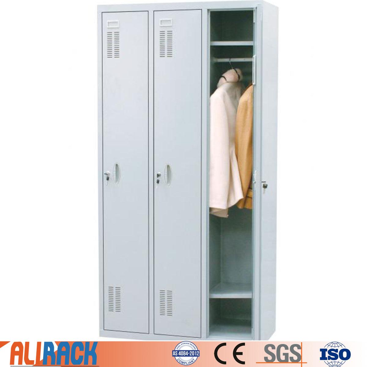 ALI RACKING Office Metal Cabinet Furniture Steel Gym Changing Room Steel Locker