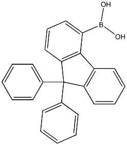 electronic material/9,9-diphenyl-9H-fluoren-4-ylboronicacid[1224976-40-2]