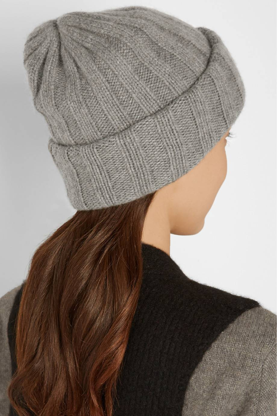 Lady 100% pure cashmere hat