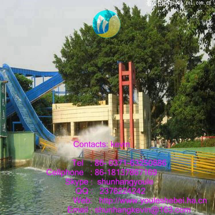 amusement park ride flume ride