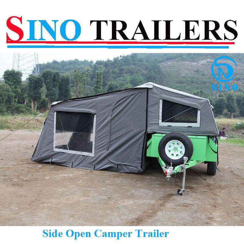 Powder Coating Soft Road Camper Trailer