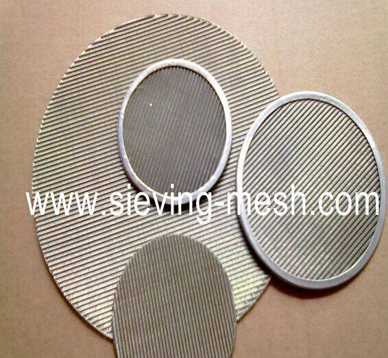 Metal Filter Wire Mesh Discs, Steel Filter Cloth Packs