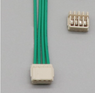 Led with 4P 1.5mm spacing puncture type terminal connection wire