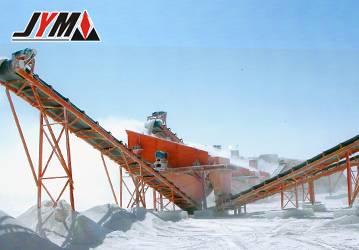 belt conveyor with large capacity