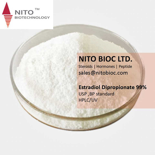 Factory quality control, strong steroid powder: Estradiol Dipropionate with CAS NO:113-38-2