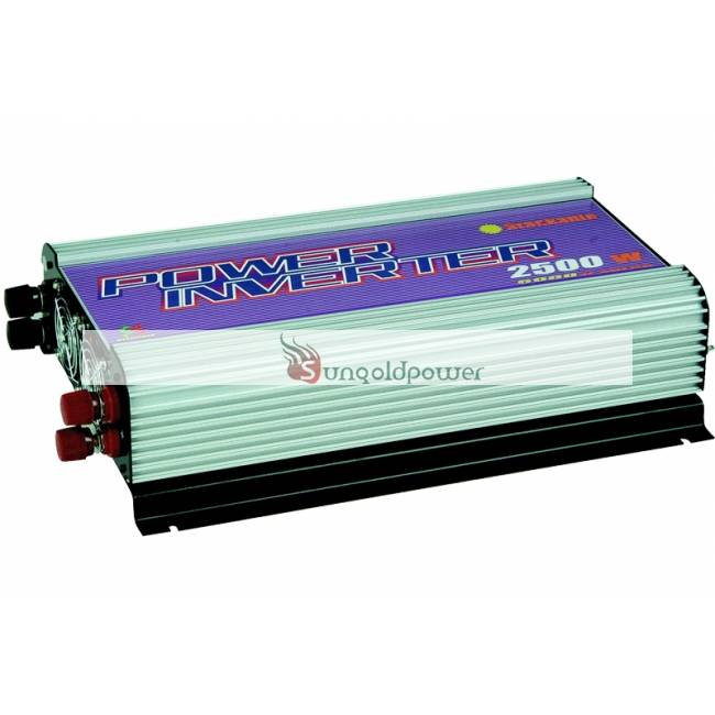 2500W Peak 5000W DC to AC Stackable Power Inverter