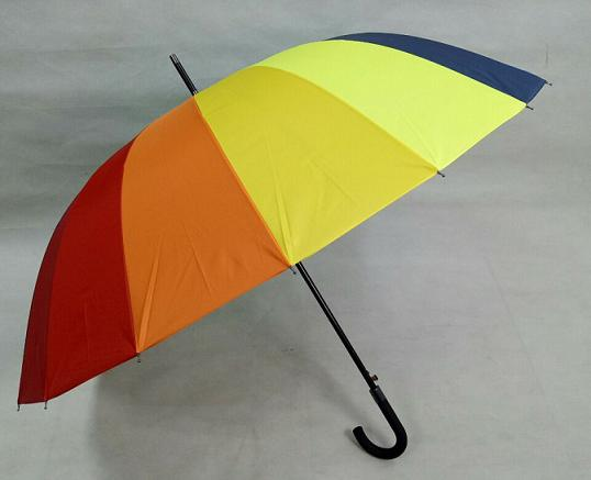 rainbow golf umbrella straight auto open golf umbrella