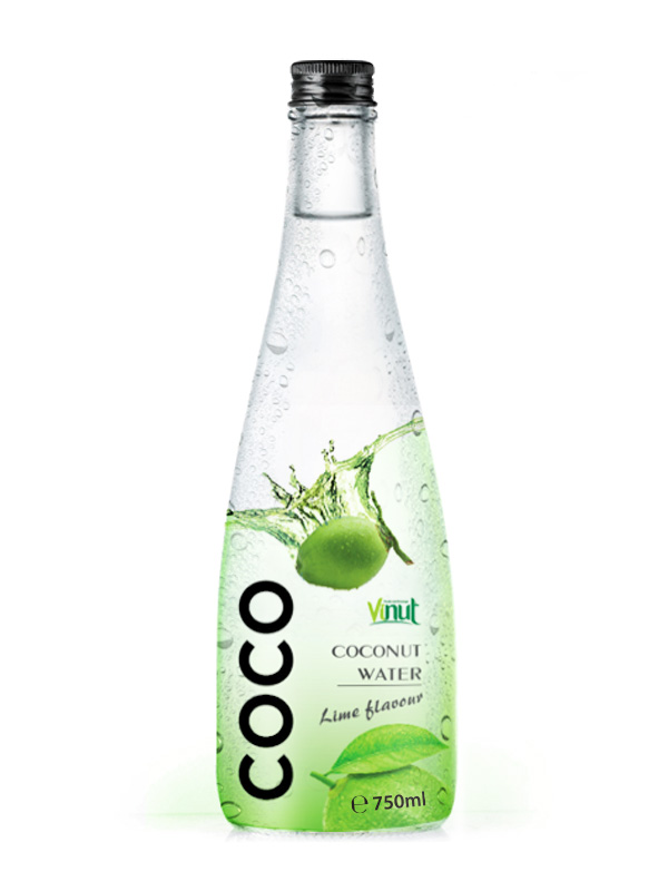 750ml Manufacturer Pure Coconut water with Lime flavour
