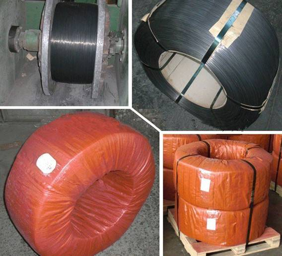 Oil tempered steel wire
