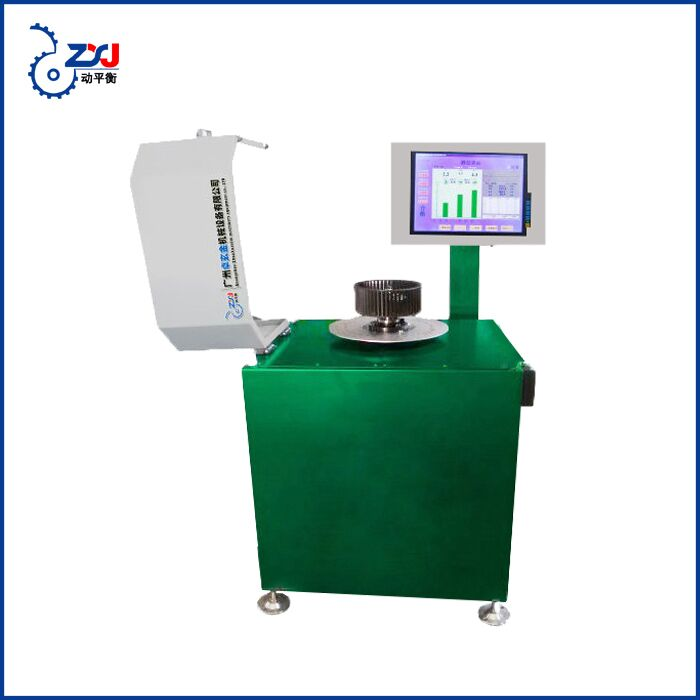 2018 guangzhou cooling fan blower impeller winding wheel dynamic balancing machine