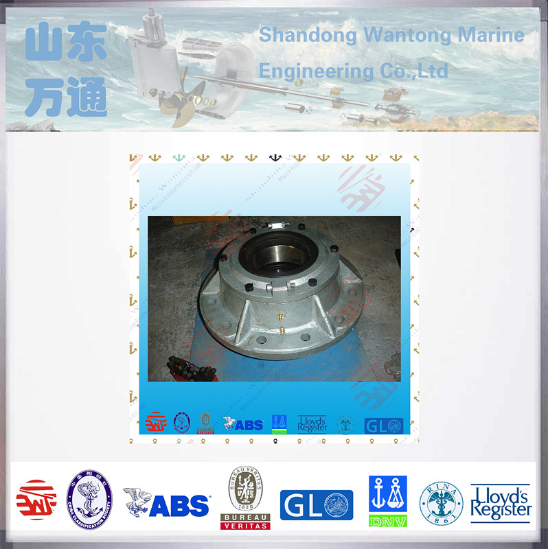 Marine surface friction upper rudder bearing carrier for rudder stock