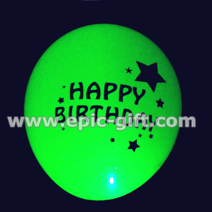 LED balloon for birthday party decoration