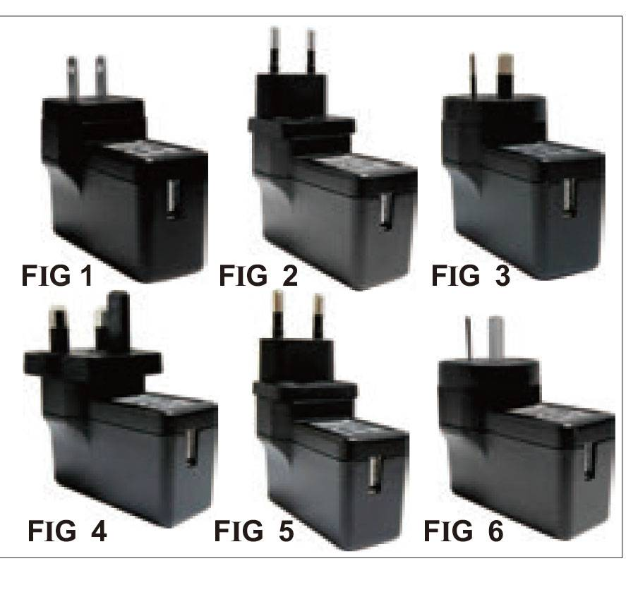 AGA006-CC  4W-6W wall mount Charger