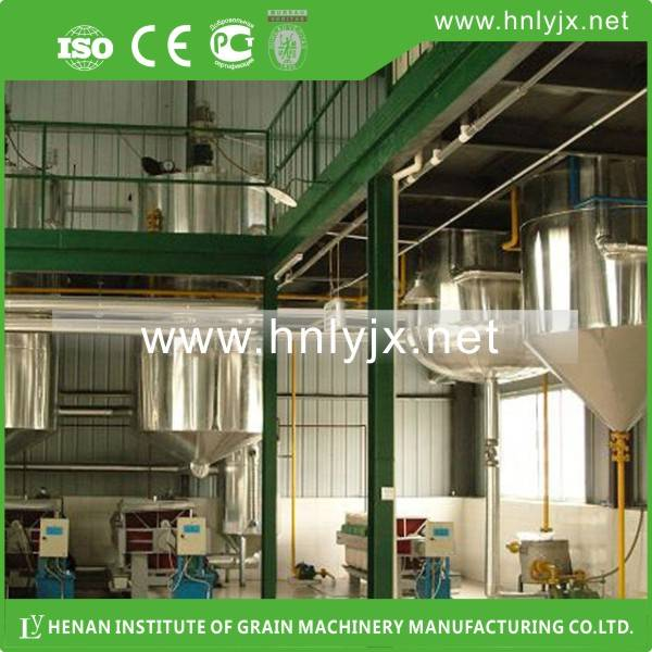 Rice Bran Oil Production plant