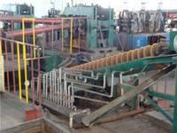 Skew rolling mill for steel ball