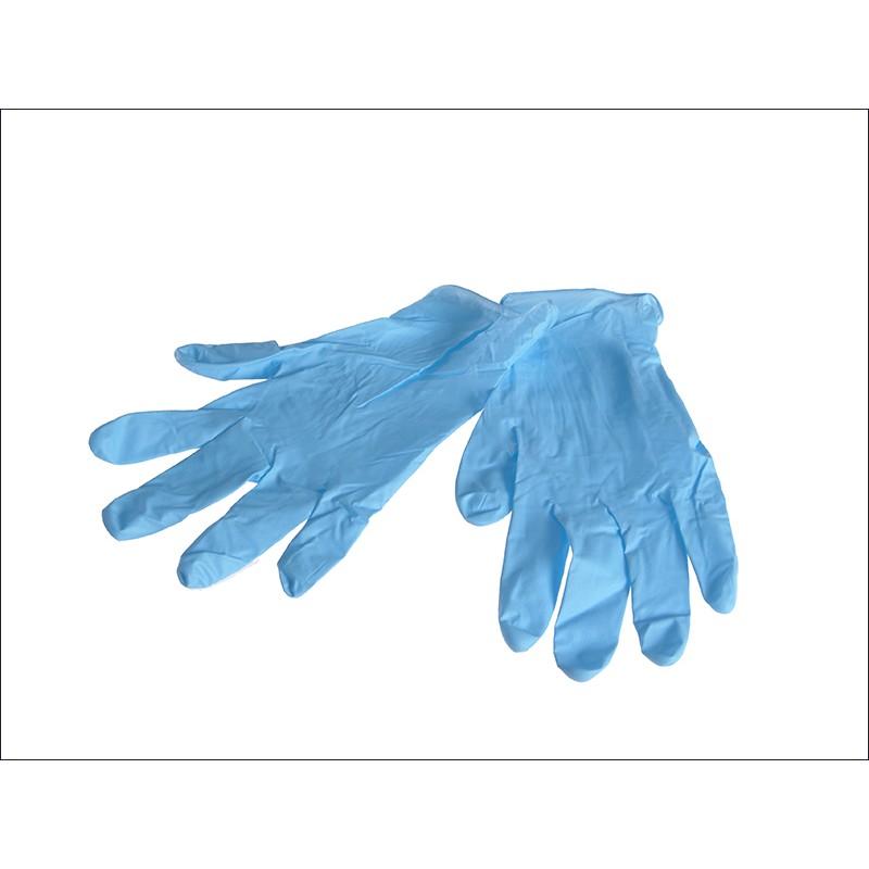 medical nitrile examination glove