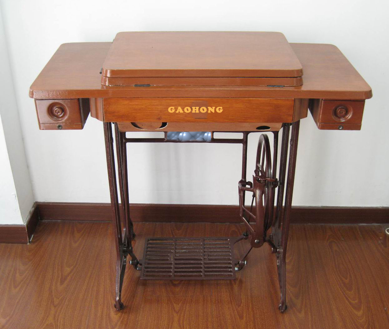table and stand for sewing machine