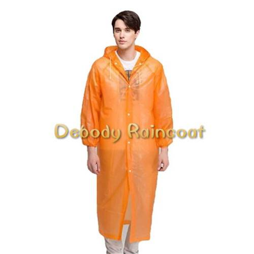 Lightweight PEVA Raincoat