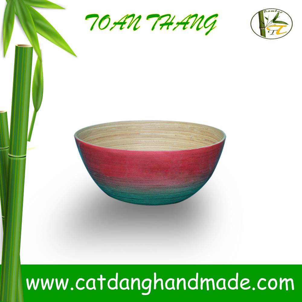 Bamboo bowls for Fruit/Salad/Snack