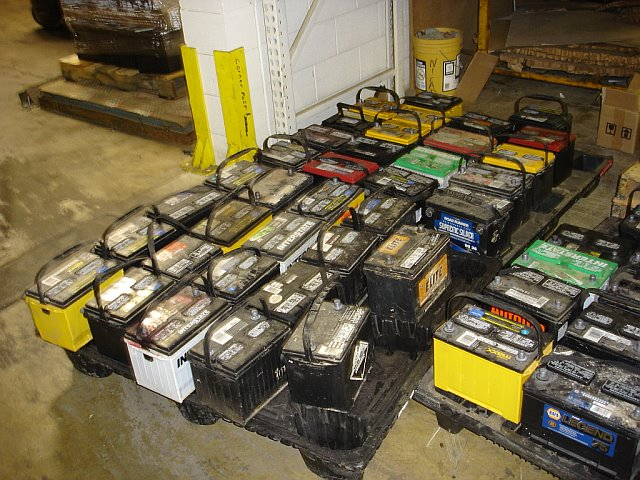 Drained Lead Acid Battery Scrap, ISRI RAINS