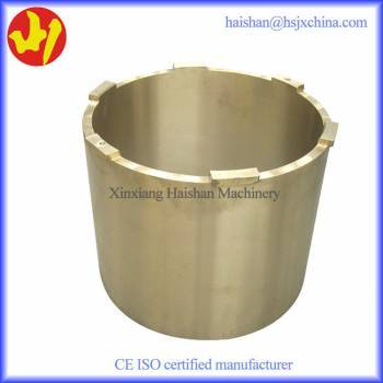 OEM bronze centrifugal casting parts Mesto upper head bushing