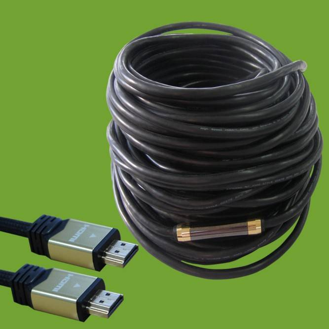 Extension HDMI cables 1.4 1080p 50M High Speed with Ethernet  Support 3D,1080p for HDTV,Set Box,Blue