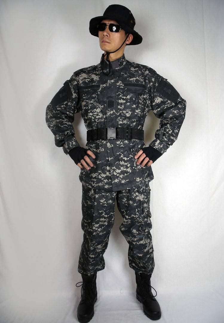 Acu City Digital Camouflage Clothing