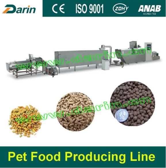 Pet chew linesnacks processing /extruder machine