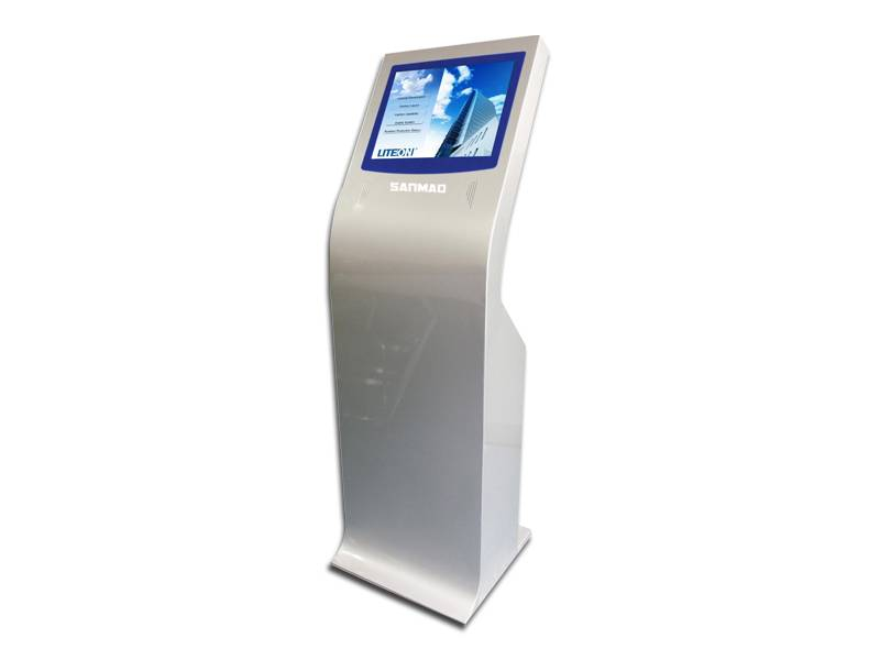 SANMAO 22 Inch LCD Touch Screen Self Information Kiosk Display Touch Screen Stand