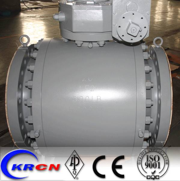 API 6D Trunnion Mounted 3 PC Ball Valve