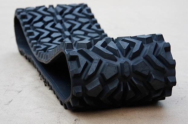 snowmobile rubber track