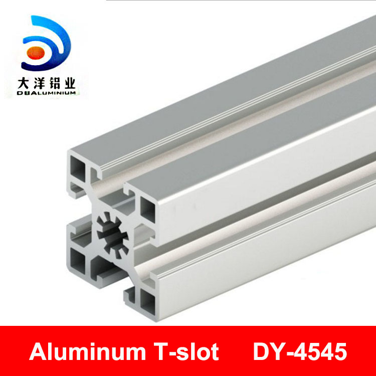 customized aluminium t-slot facory