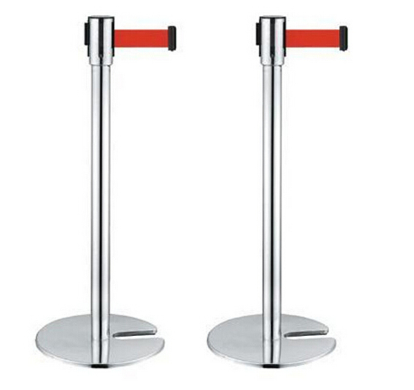 2m Adjustable Post Barrier For Event