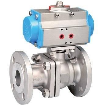 flange pneumatic ball valve