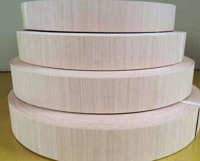1.5mm oppsite grain ash edge band