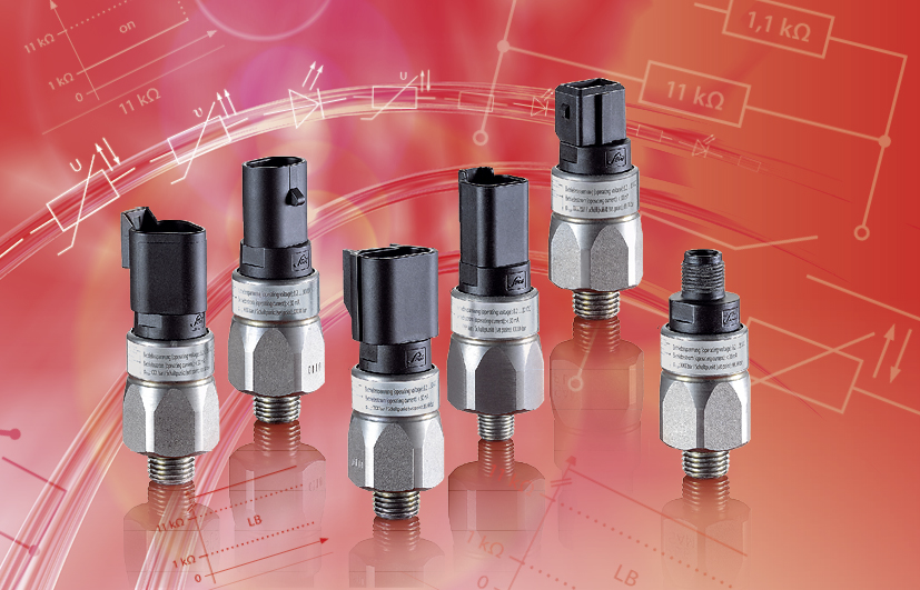 SUCO Pressure switches PLUS hex 24 with supplementary functions