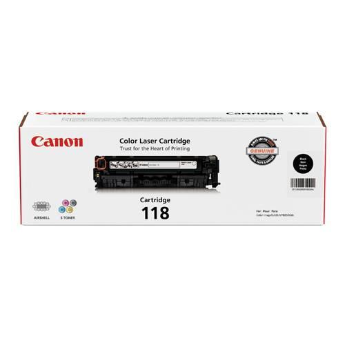 Canon 118 Black Toner cartridge