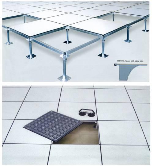 Steel Raised Flooring System with HPL Finish