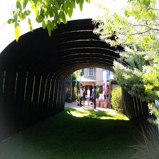 12m long inflatable tunnel