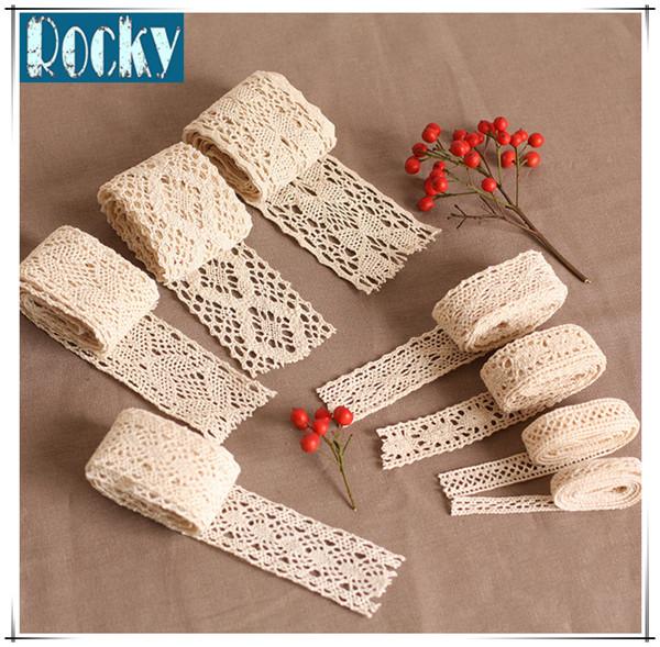 Fashion Lace Trimming Cotton Lace for Garment