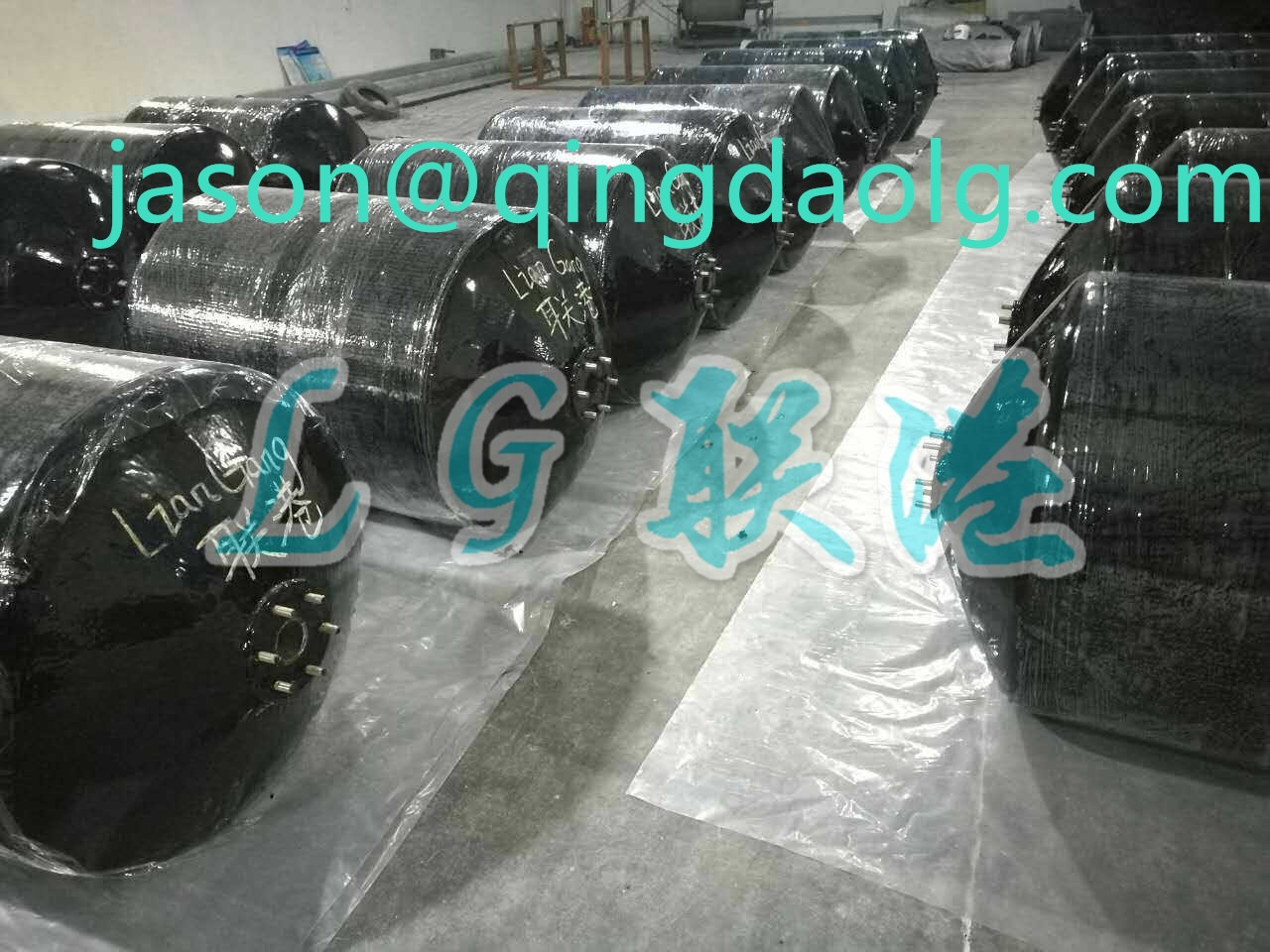Polyurethane foam filled fender for ship and dock reasonable price